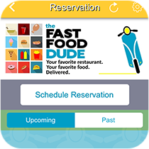 Mobile App Reservation Feature