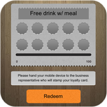 Loyalty Card Feature