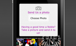 Mobile App Email Photo Feature