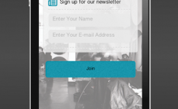 Mobile App Mailing List Feature
